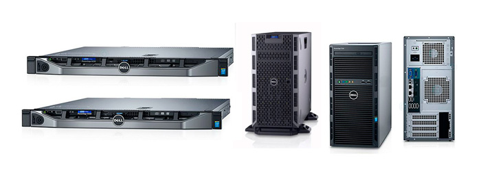 PowerEdge R330 и R230 и PowerEdge T330 и T130