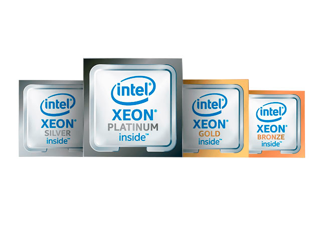 Процессоры Dell Intel Xeon Scalable